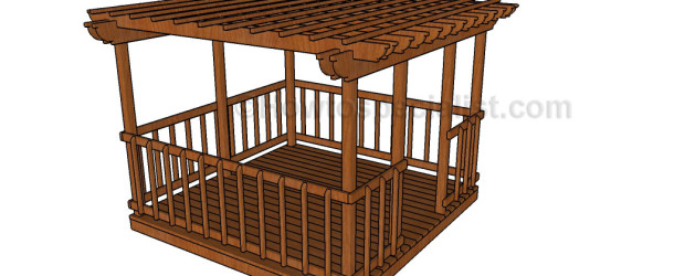 Simple gazebo plans howtospecialist how to build step for Easy to build gazebo