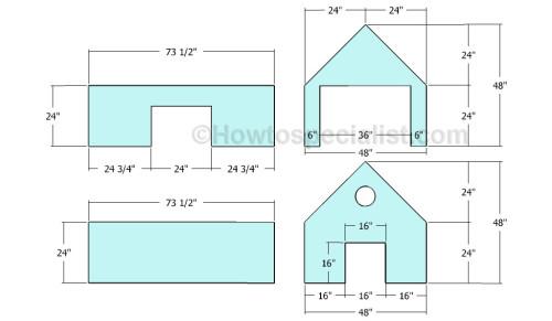 Building the exterior walls