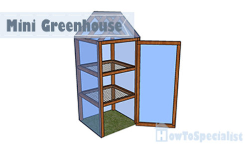Mini-greenhouse plans