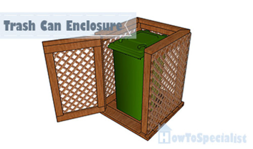 Trash-can-enclosure