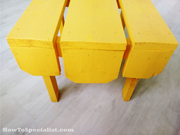 Wiooden side table