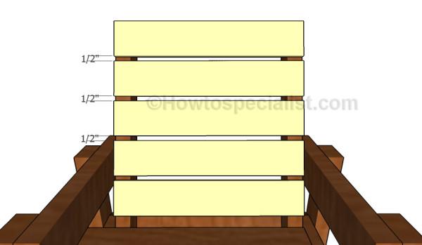 Building the backrest