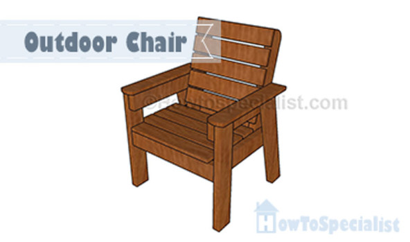 how to build an outdoor chair howtospecialist how to