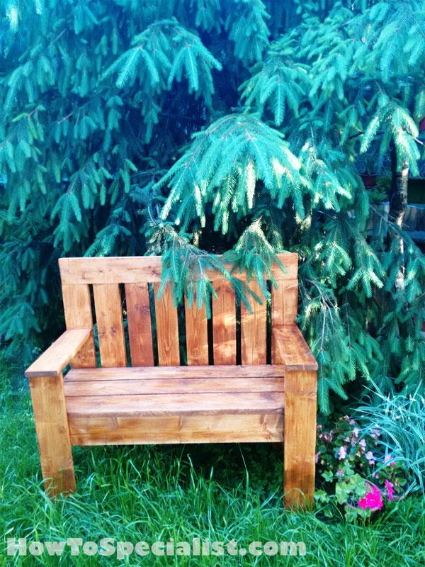 2x4-Wooden-Bench