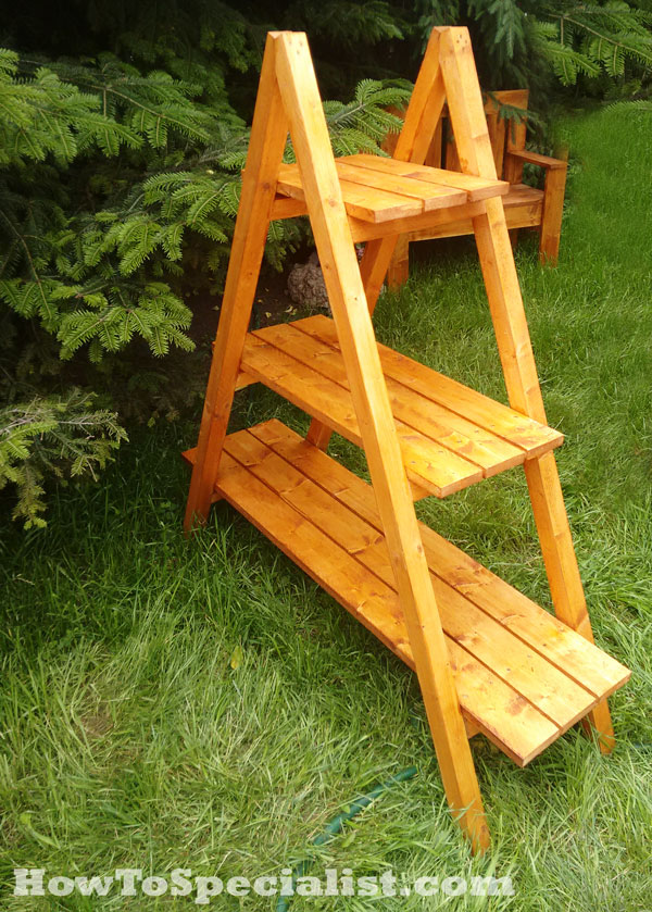 How To Build An A Frame Plant Stand Howtospecialist