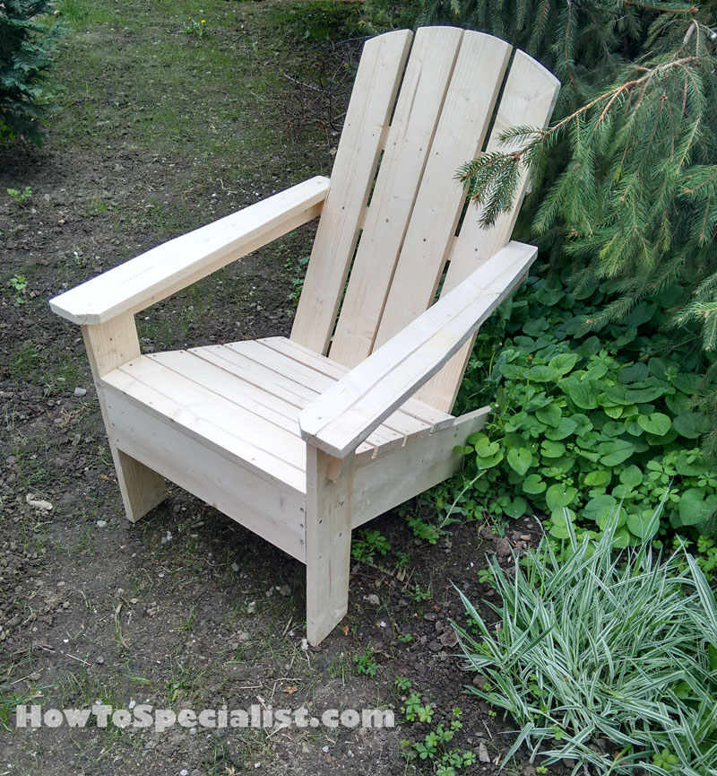 How to build adirondack chairs | HowToSpecialist - How to Build, Step ...