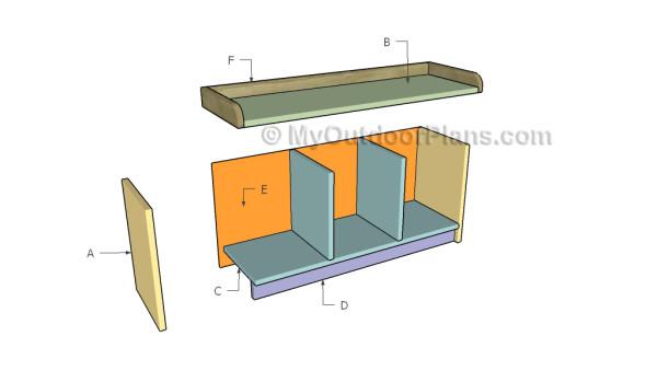 Building-an-entryway-bench
