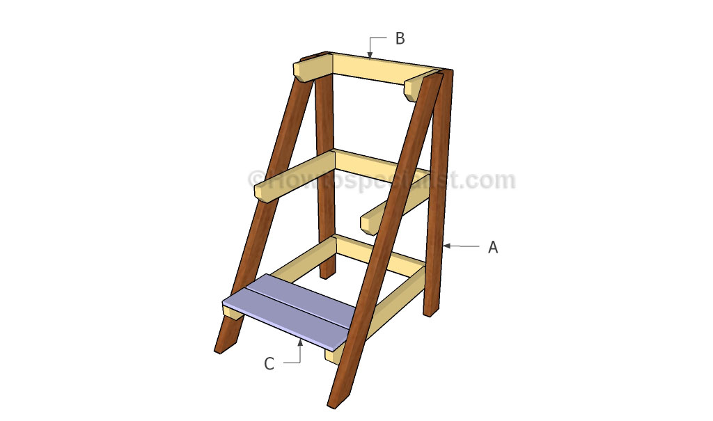 How to build a tiered plant stand howtospecialist how How to build a tiered plant stand