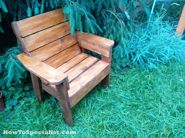 DIY Patio Chair HowToSpecialist How To Build Step By Step DIY Plans