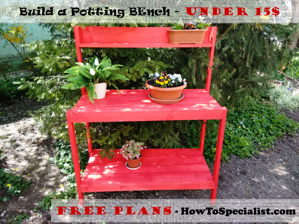 Potting-Bench-Plans