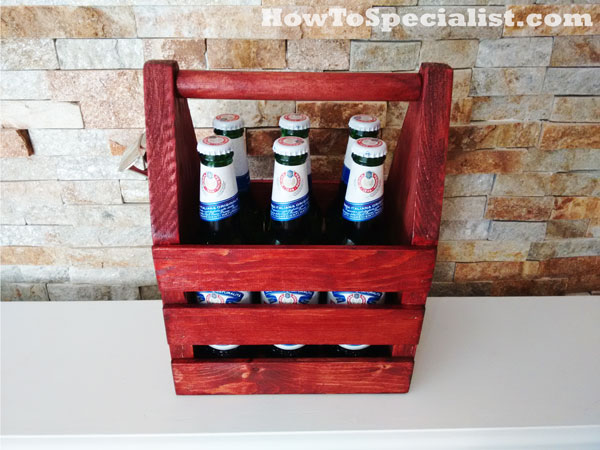 Building a beer caddy