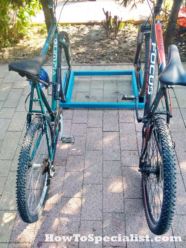 Double-Bike-Rack-Plans