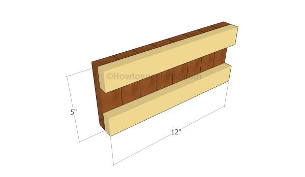 Footboard panel