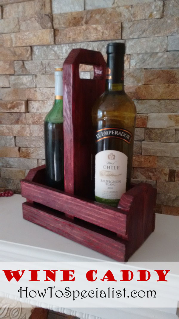 Free-Wine-Caddy-Plans