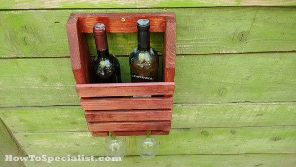 Wine-shelf-with-glass-rack-plans