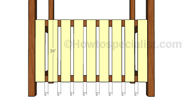 Back rails