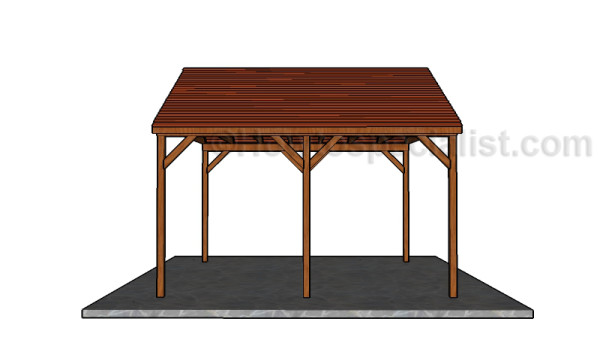 DIY Picnic Shelter