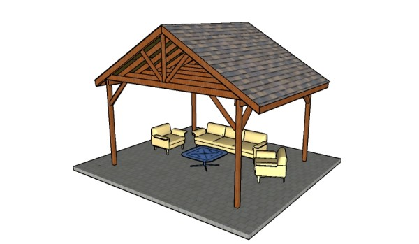 How to build a picnic shelter