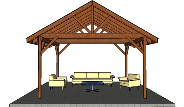 Picnic Shelter Building Plans Image Mag