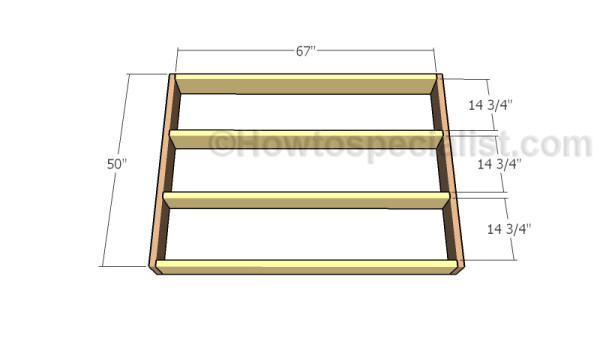 quality design 5597f 32fa9 Floating queen size platform bed plans | HowToSpecialist ...