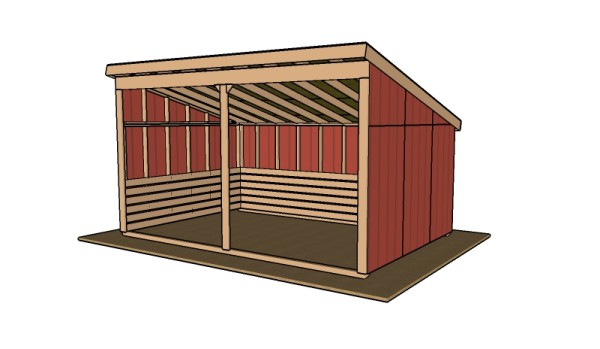 Run in shed plans