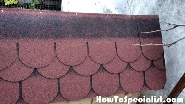 Attaching-the-asphalt-shingles