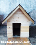 How to make an insulated dog house