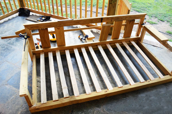 Diy Porch Swing Howtospecialist How To Build Step By