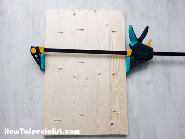 Building the  door panels