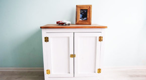 How to build a farmhouse cabinet