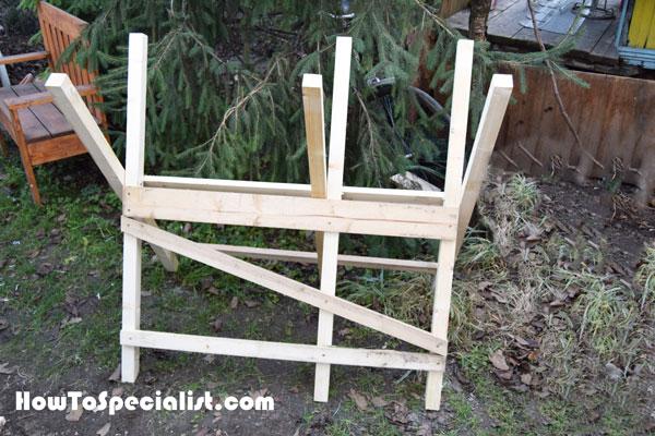 How to build a folding sawbuck