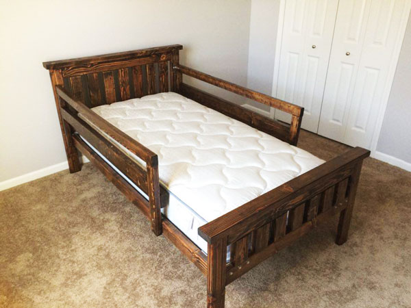 Diy Twin Bed Howtospecialist How To Build Step By Step