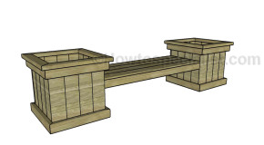 Free planter bench plans