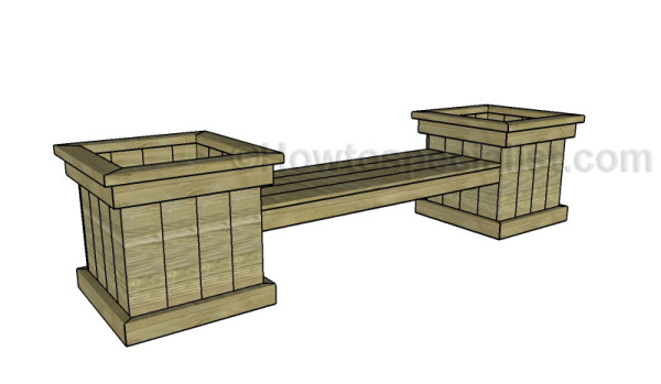 Free planter bench plans