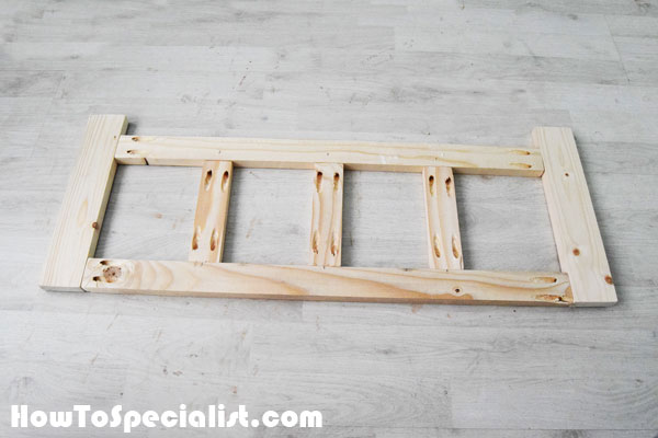 Assembling-the-frame-for-the-coat-rack