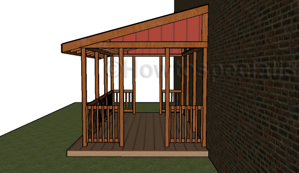 Attached gazebo plans free