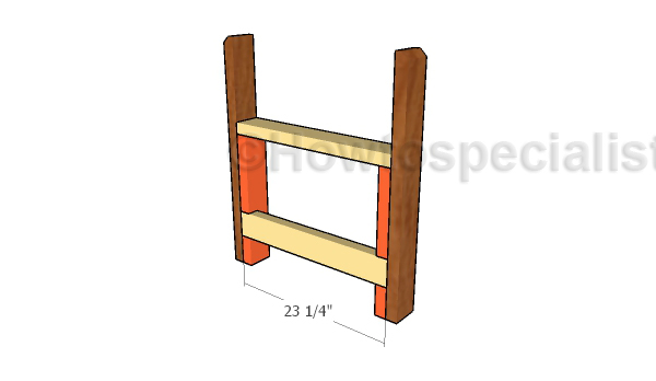 Building the side supports