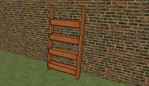 Tiered planter plans