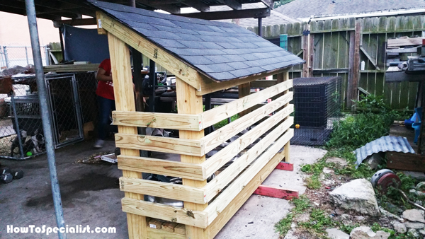 Diy small firewood shed howtospecialist how to build step by step diy plans - How to build a wooden shed in easy steps ...