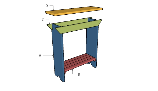 Building a basic plant stand