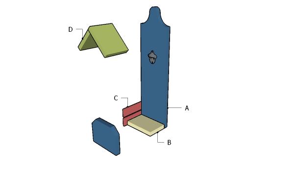Building a wood bottle opener