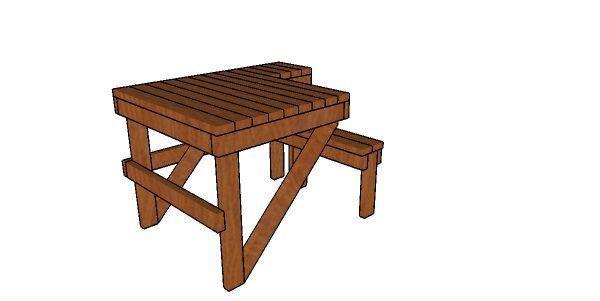 Shooting Bench Made From 2x4s Plans Howtospecialist How To Build Step By Step Diy Plans