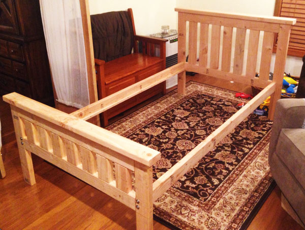 Parent Directory 2x4 Bed Frame Adirondack