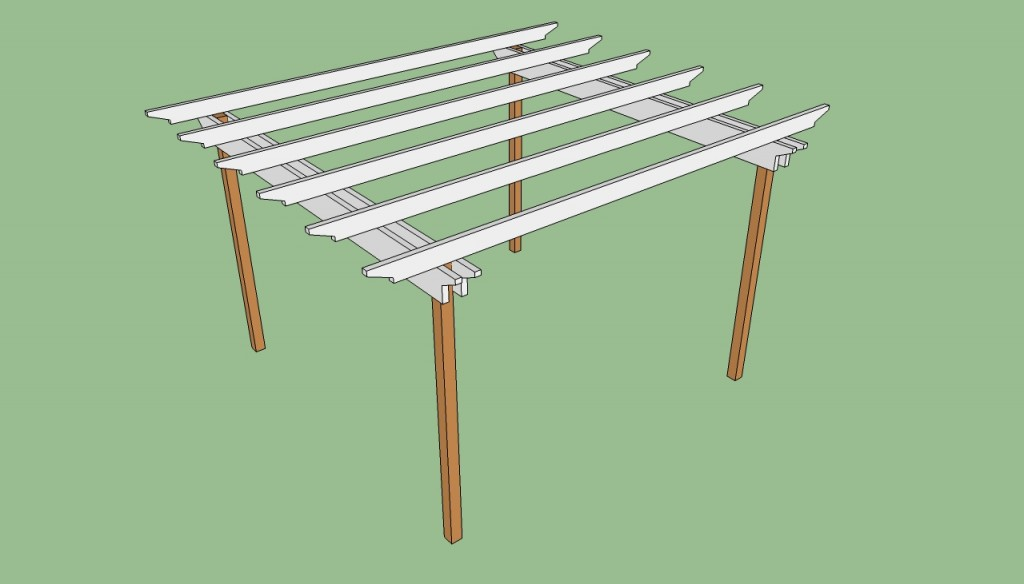 Pergola Plans Free Howtospecialist How To Build Step By Step Diy Plans