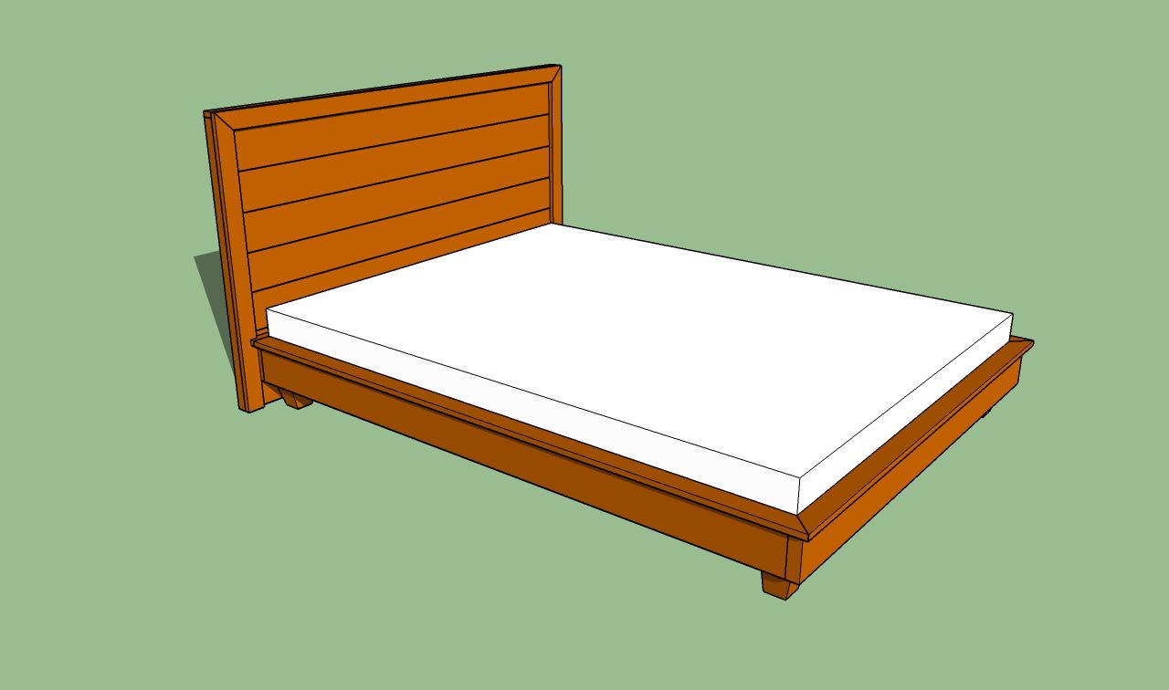 PDF DIY Build A Platform Bed Frame Download building a ...
