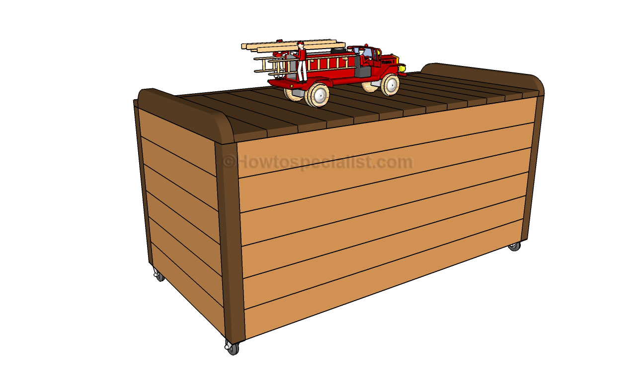 How to build a toy box | HowToSpecialist - How to Build ...