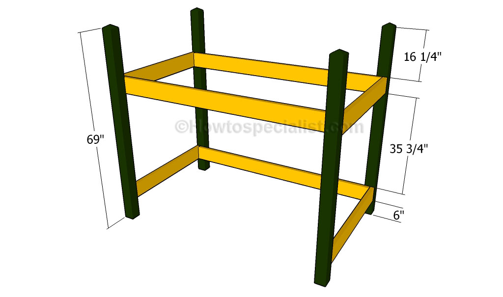 Free Loft Bed Plans Howtospecialist How To Build Step By Step Diy Plans