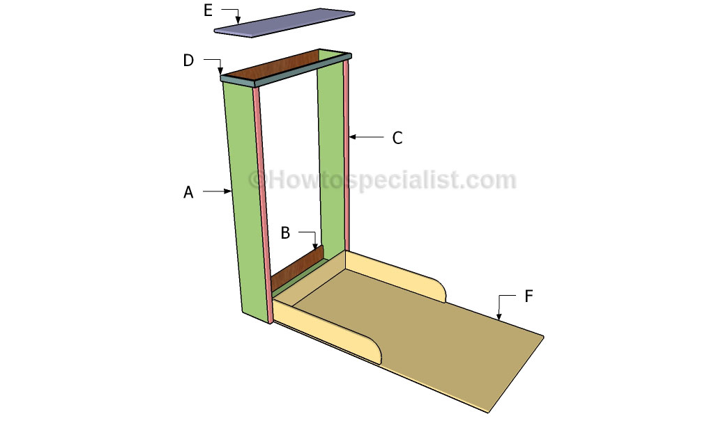 Picture of: Murphy Bed Plans Howtospecialist How To Build Step By Step Diy Plans