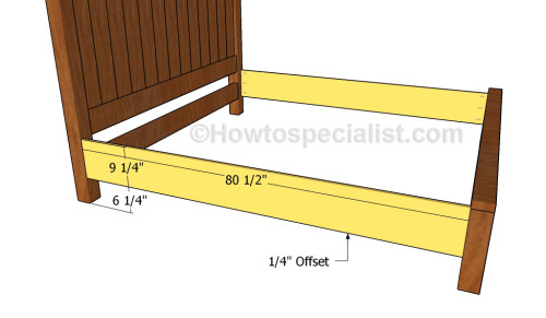 Farmhouse Bed Plans Howtospecialist How To Build Step By Step Diy Plans