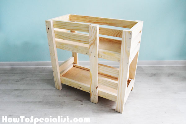 How To Build A Doll Bunk Bed Free 18 Doll Bed Plans Howtospecialist How To Build Step By Step Diy Plans